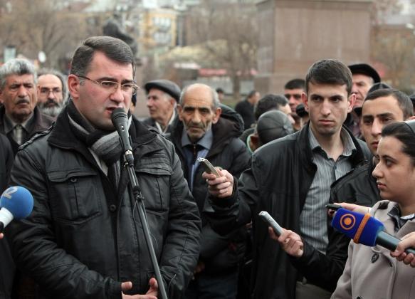 Один из политических фигурантов дела «Сасна Црер» вышел на свободу