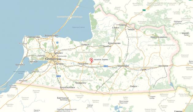 Под Калининградом взрыв газа разрушил строящийся дом