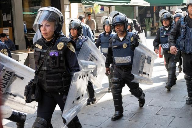 Правозащитники заявили о незаконной казни 22 человек полицейскими в Мексике