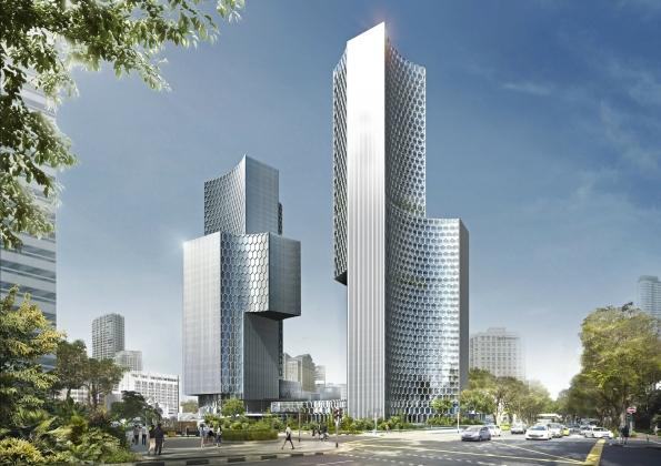 Строящийся небоскреб стал самым высоким зданием Пекина