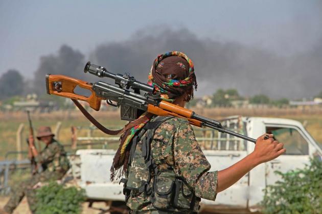 Пентагон: сирийские ВВС атакуют курдов на северо-востоке Сирии