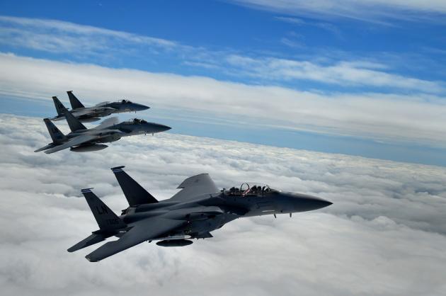 Истребители США вытеснили самолеты ВВС Сирии над Эль-Хасакой