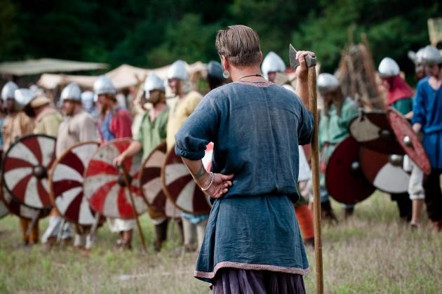 В Калужской области проходит фестиваль «Воиново поле»