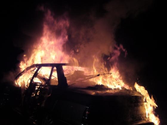 В Дагестане найден сгоревший автомобиль и два трупа