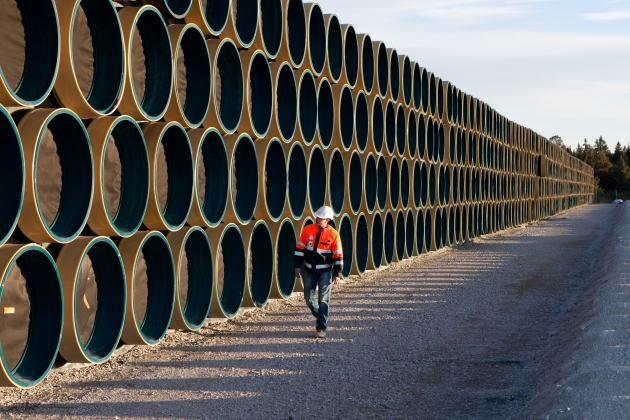 Замглавы «Газпрома» о «Северном потоке-2»: «Мы двигаемся по графику»