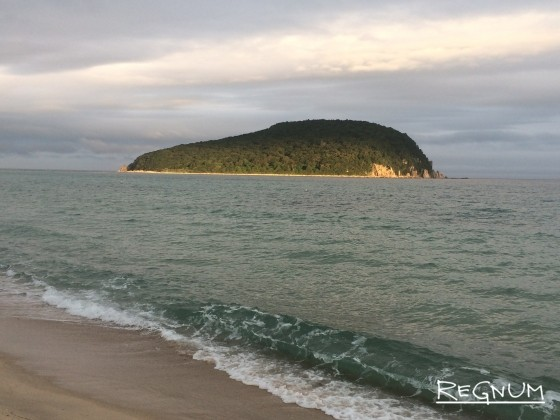 Вид на остров Петрова