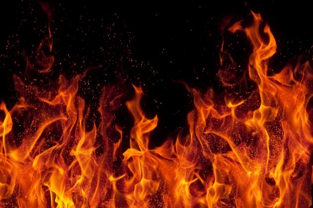 Крупный пожар случился в красноярской колонии