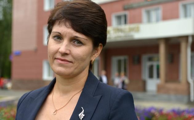 И. о. первого вице-мэра Горно-Алтайска Ольга Сафронова