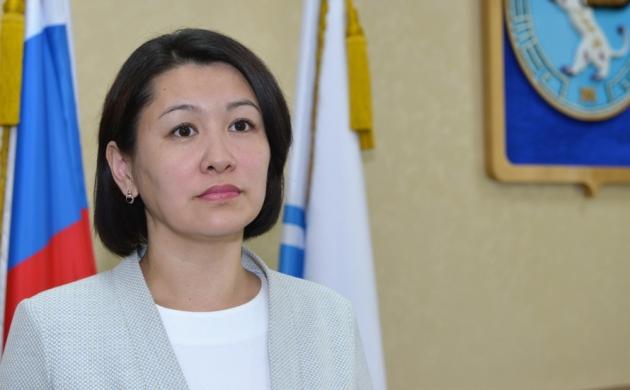 Председатель комитета по национальной политике и связям с общественностью Динара Култуева
