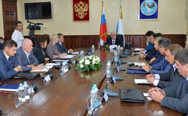 Совещание в правительстве Республики Алтай