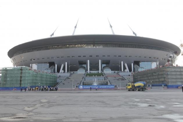 Смольный заключил контракт на достройку «Зенит-Арены»