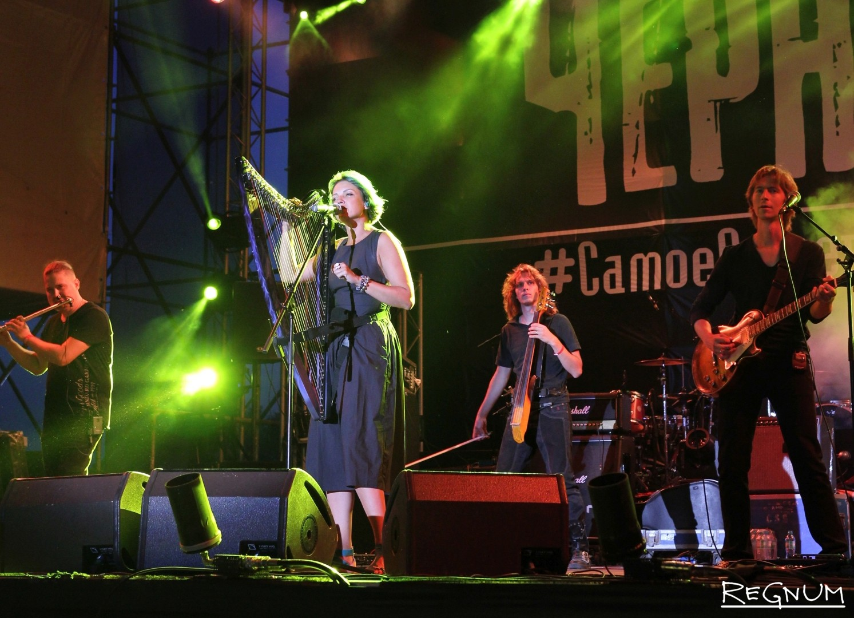 «Мельница» на фестивале «Чернозём-2016» в Тамбове