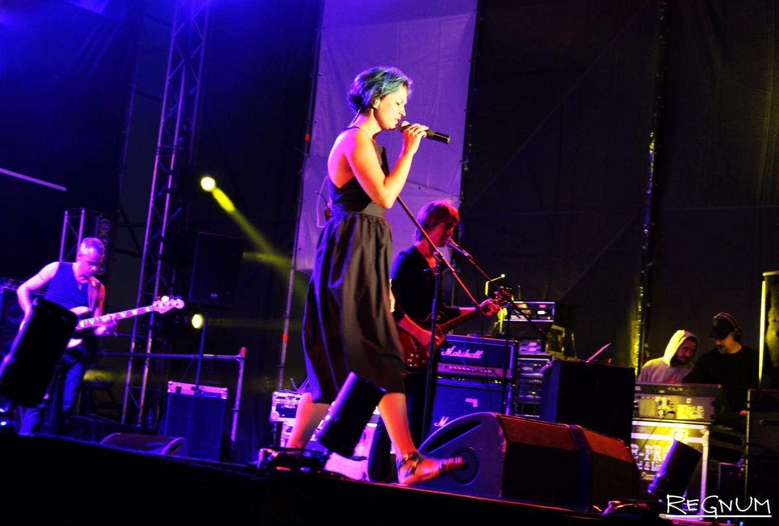 Выступление «Мельницы» в Тамбове