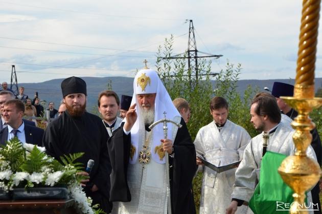Патриарх Кирилл посетил заполярный Кировск