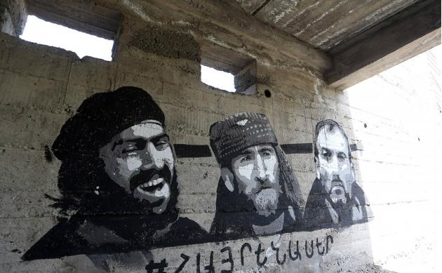 Тема Карабаха не была забыта членами группы «Сасна Црер» и после того, как они оказались под арестом