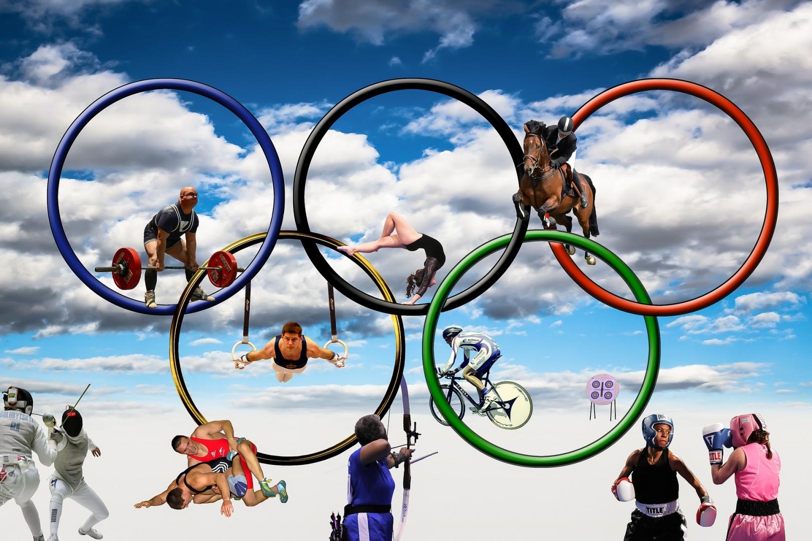 олимпийские резервы фотоколлаж через сто