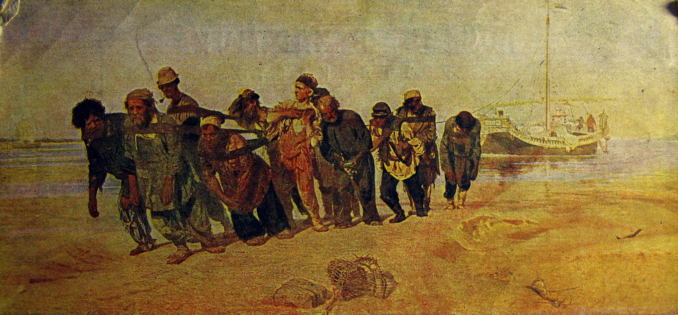 ilya repins volga boatmen essay Song of the volga boatmen: scores at the international music score library project (imslp) youtube: song of the volga boatmen — sung in the tradition of chaliapin by leonid kharitonov with the alexandrov ensemble, 1965.
