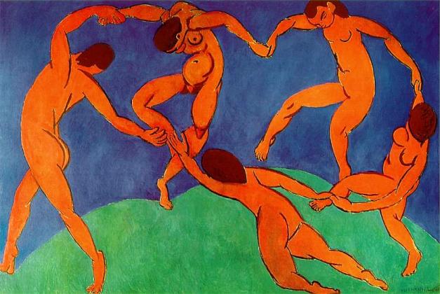 Анри Матисс. Танец. 1909-1910