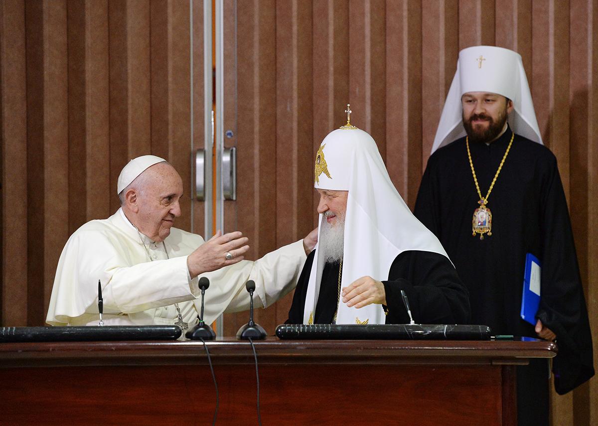 Ватикан и РПЦ сближаются на основе личных встреч - Станислав Стремидловский  - ИА REGNUM