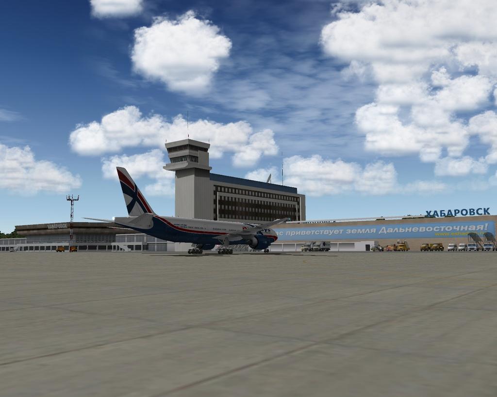 Аэропорт в хабаровске картинки