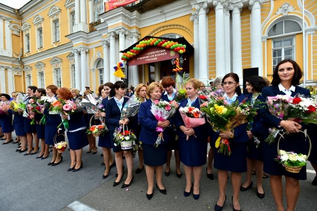 Педагоги суворовского военного училища