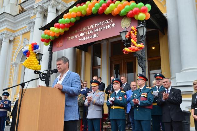 Среди почетных гостей ветераны, спортсмены и артисты Мариинского театра
