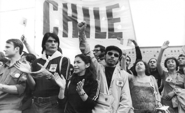 chile and the revolution from below The necessity for the chilean revolution was not only seen from the bottom up perspective of the workers, it also was recognized from the top down, by the salvador allende government, and the people of chile who voted his populist party into power faced with the majority of its wealth in the.