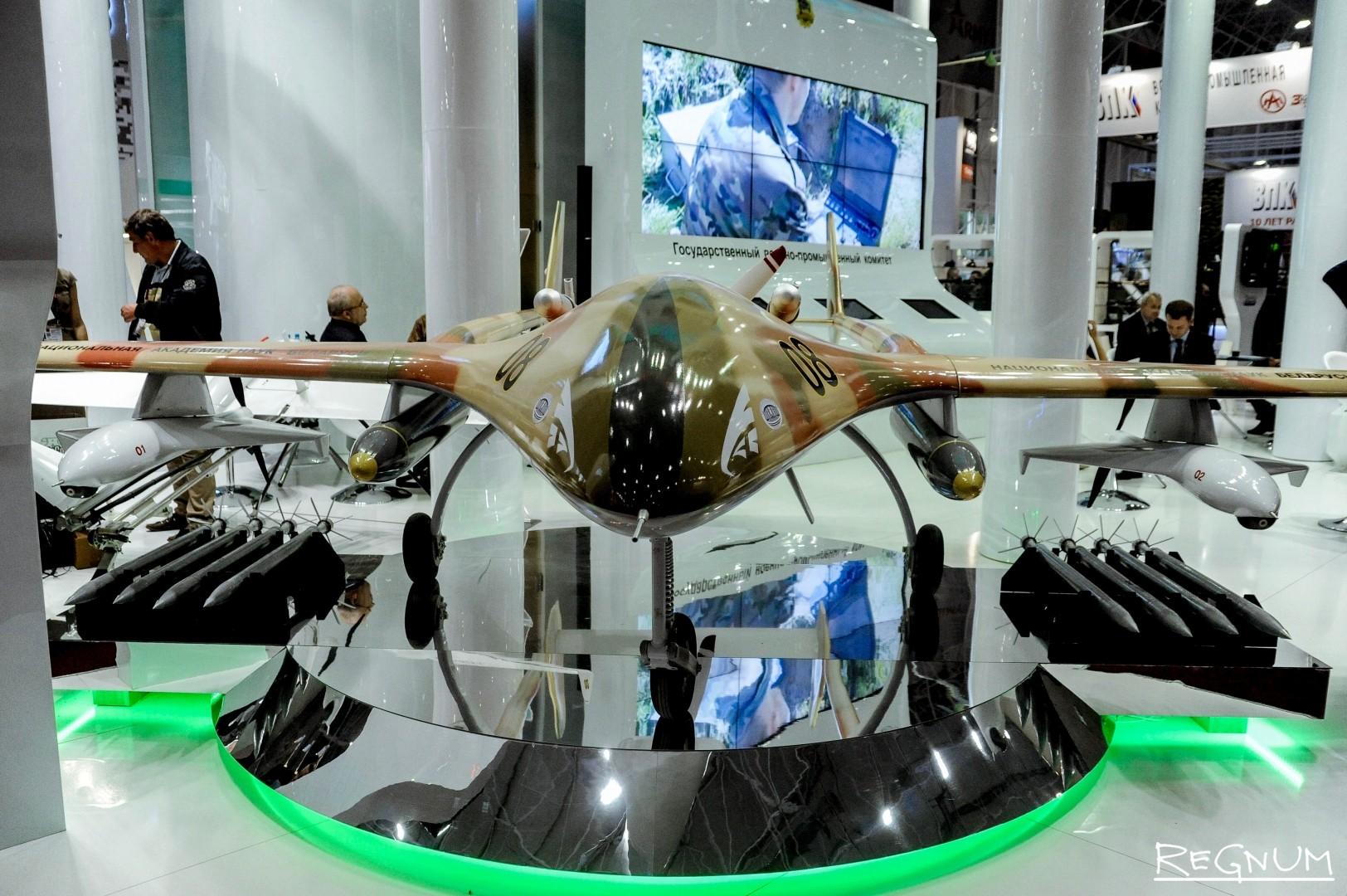 Разведывательно-ударный беспилотный авиационный комплекс «Буревестник МБ»