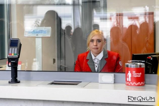 Касса на станции Лужники МЦК