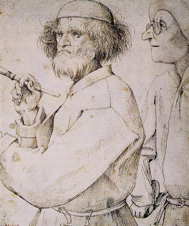 Питер Брейгель Старший. Художник и знаток. Около 1565