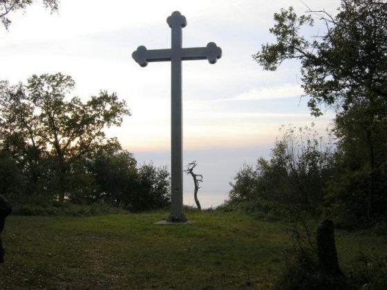 Крест святого Адальберта под Калининградом