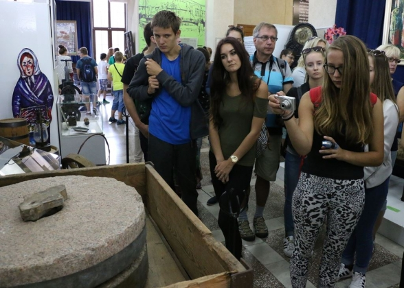Чешские школьники-русисты в историко-художественном музее Калининграда