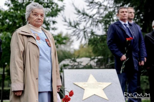 В Москве заложили камни памятникам дивизиям народного ополчения — фото