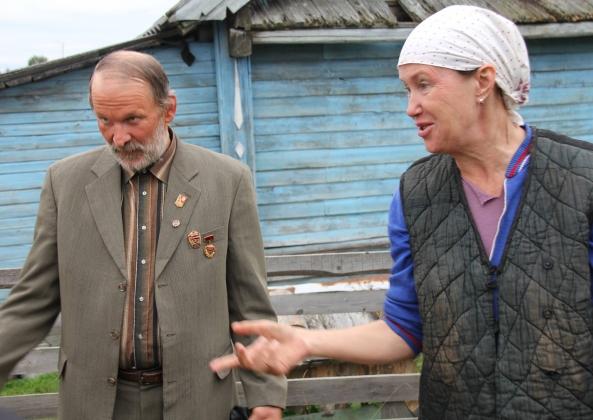 Сцена с Ириной Розановой