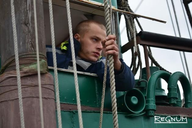 Капитан брига «Триумф» Михаил Сидоровский