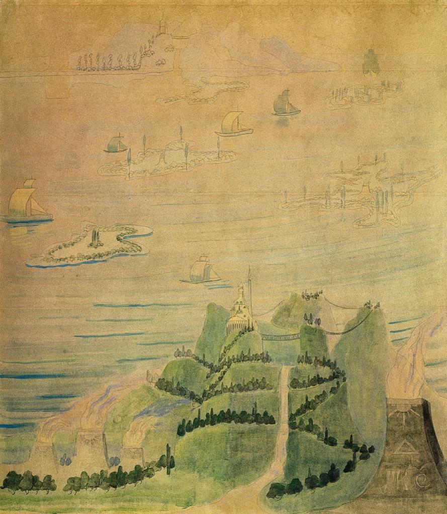 Микалоюс Чюрлёнис. Соната лета. Аллегро. 1908