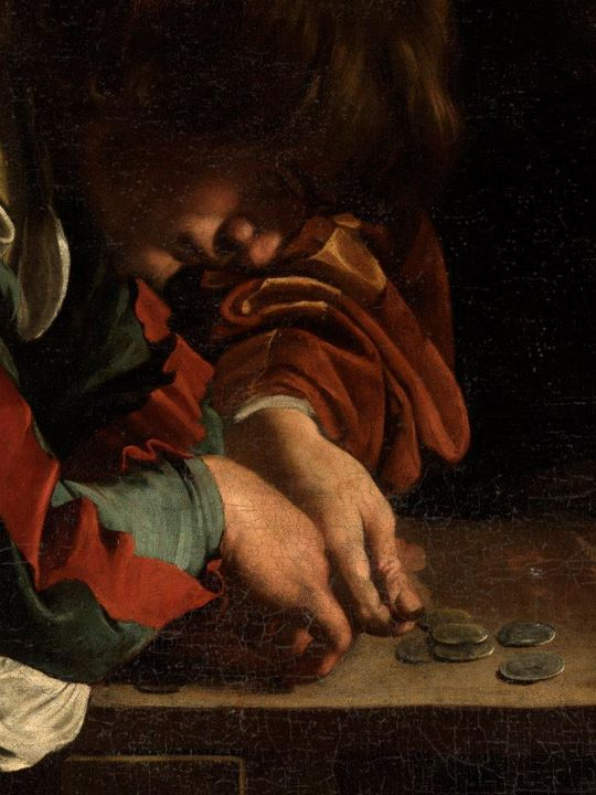 the calling of st matthew caravaggio essay 'the calling of saint matthew': a personal encounter with christ but that is what he did with st matthew caravaggio's masterpiece christ is calling.