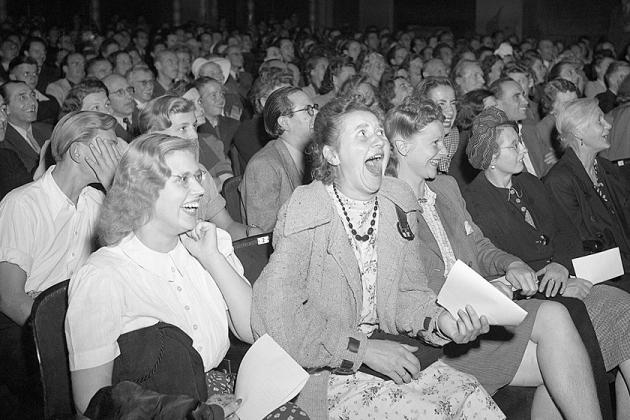 Немцы после войны на премьере фильма