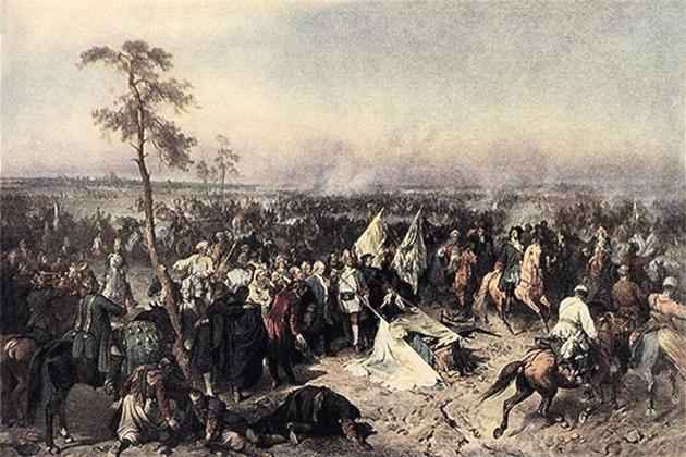 Битва при Лесной — матерь Полтавской победы