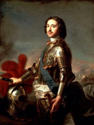 Ж. М. Натье. Петр I Великий. 1717