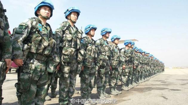 КНР направила в Либерию очередную группу миротворцев