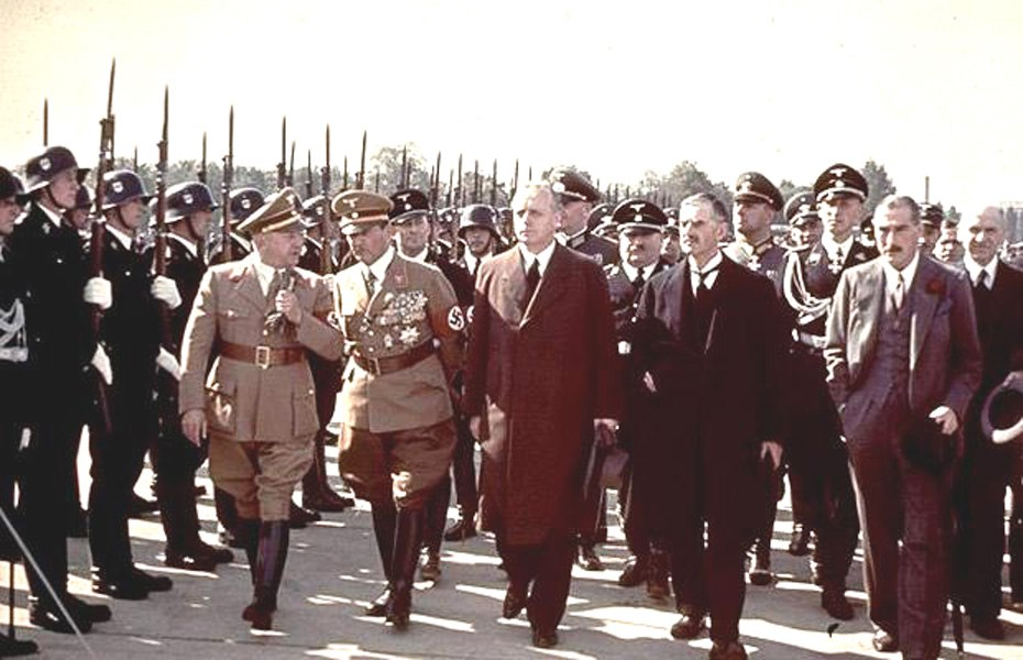 an analysis of the british prime minister neville chamberlain