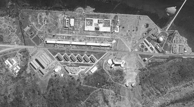 Научный ядерный центр имени Хоми Баба. Вид из космоса. 1966