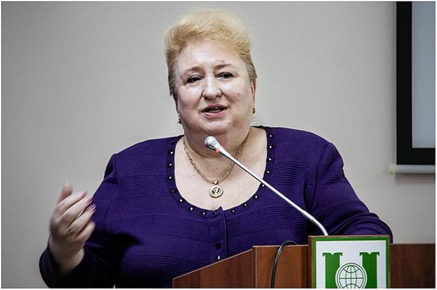 Алла (Альбина) Александровна Корнилова, автор экспериментального доказательства существования трансмутации химических элементов в биологических системах (1993 г.)
