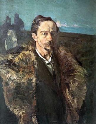 Сергей Малютин. Автопортрет. 1901