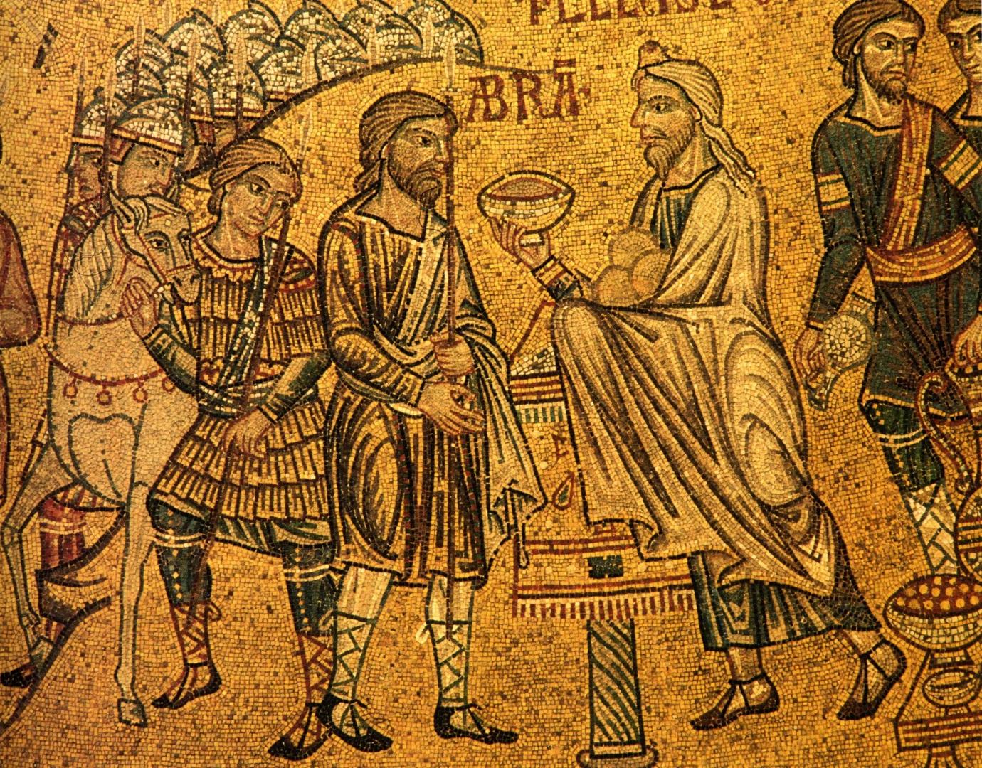 Встреча Авраама и Мелхиседека