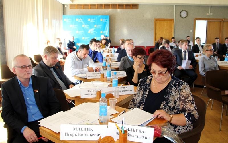 На сессии Петрозаводского городского совета