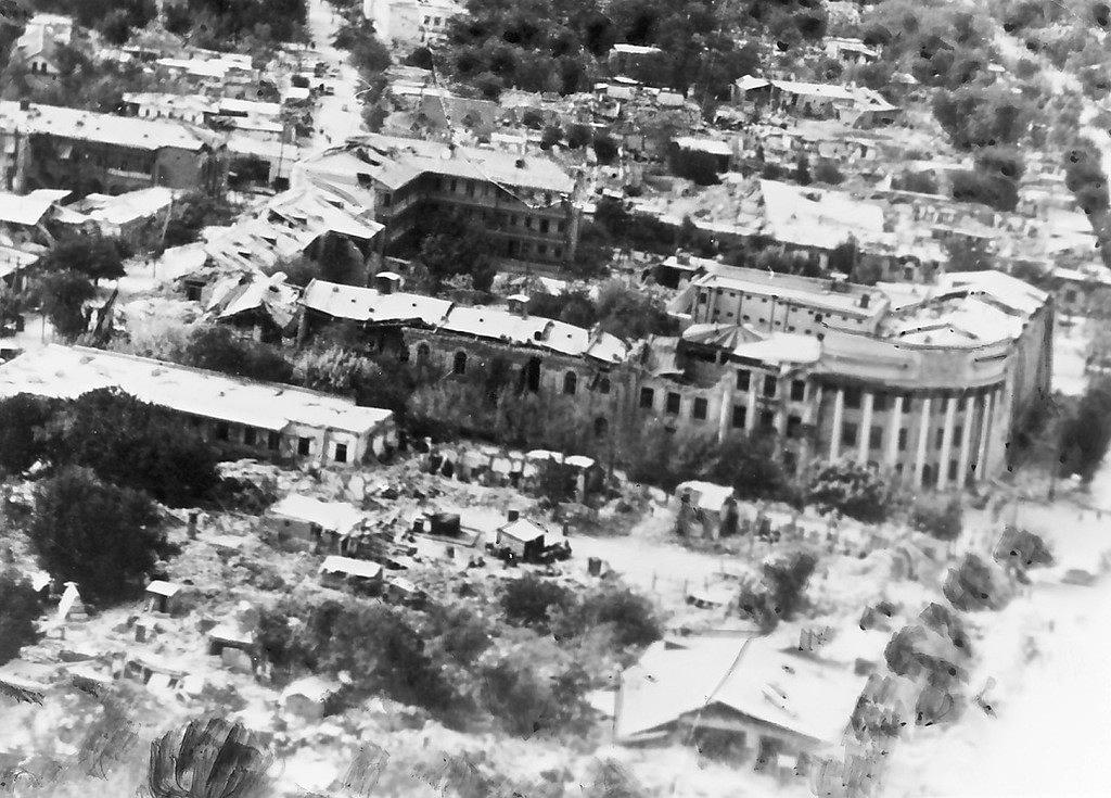 Ашхабад после катастрофы. Октябрь 1948 года