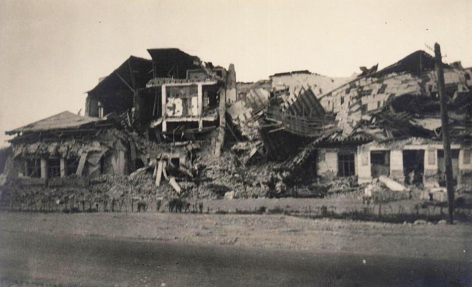 Ашхабадское землетрясение 1948 года. Пединститут