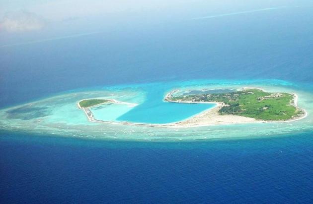 Китай продолжает застраивать спорные острова в Южно-Китайском море